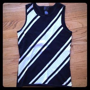 Women's INC brand sleeveless sweater size small